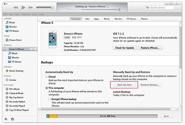 How to Transfer Data from iPhone 5/5s to iPhone 6/6s