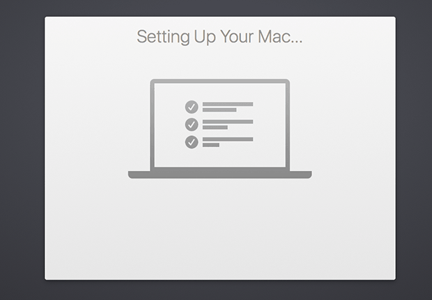 set up your mac