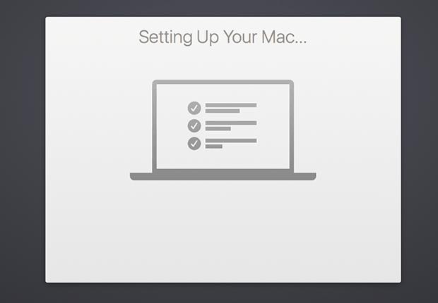 set up your mac