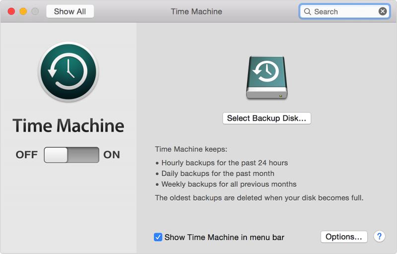 Time Machine Backup
